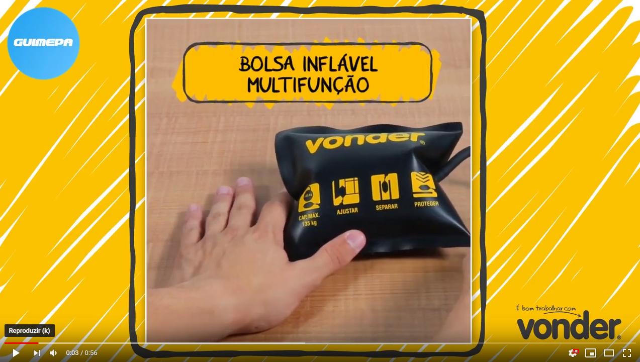 Bolsa Inflável Multifunção - Vonder - GUIMEPA