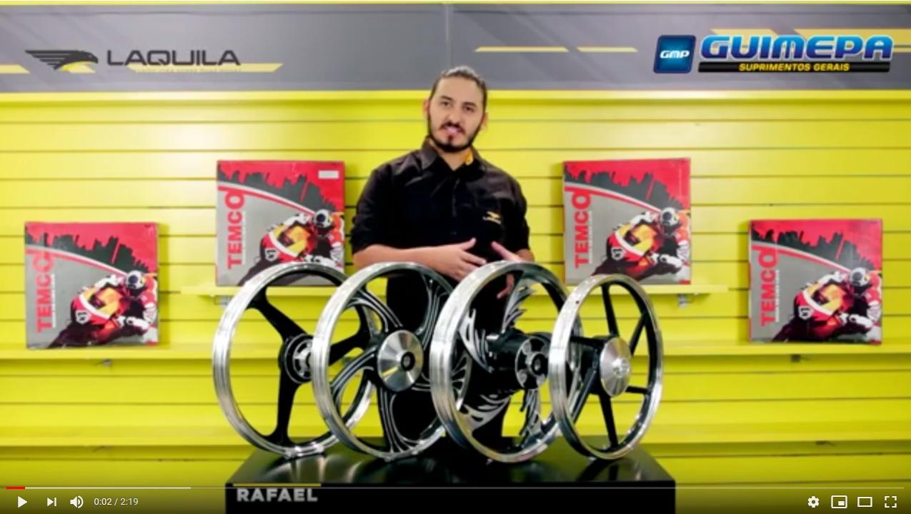 Aros e Rodas para motos - TEMCO - GUIMEPA