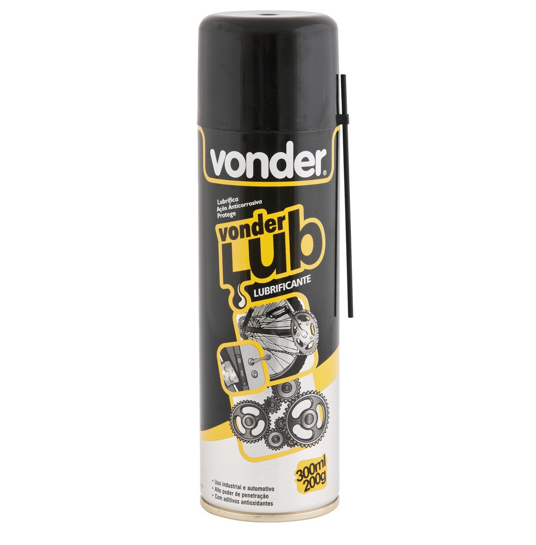 Óleo lubrificante spray 300ml/200g - Vonder